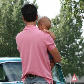 dad baby car