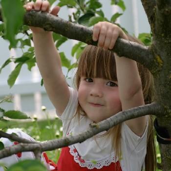 girl n tree
