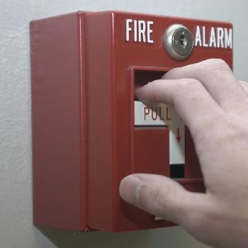pulling alarm