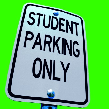 student parking brainloc