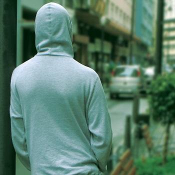 boy in hoodie