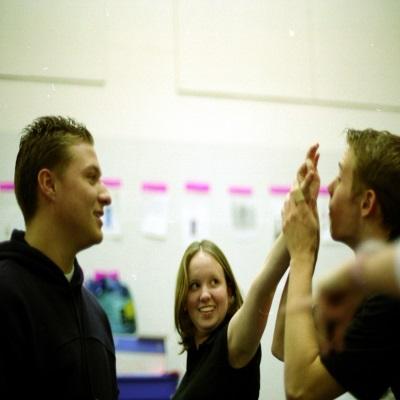 student rehearsal