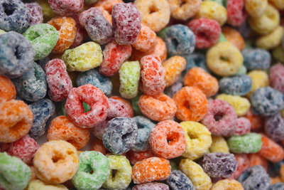 sugared cereal